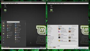 Linux Mint Cinnamon VS Mate